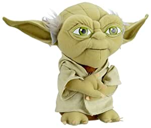 Amazon.com: Joy Toy Star Wars Yoda Plush 23 Cm: Computers