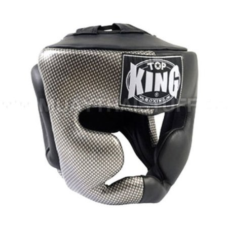 Top King Boxing Head Guard Empower Carbon Kevlar Printed (M)