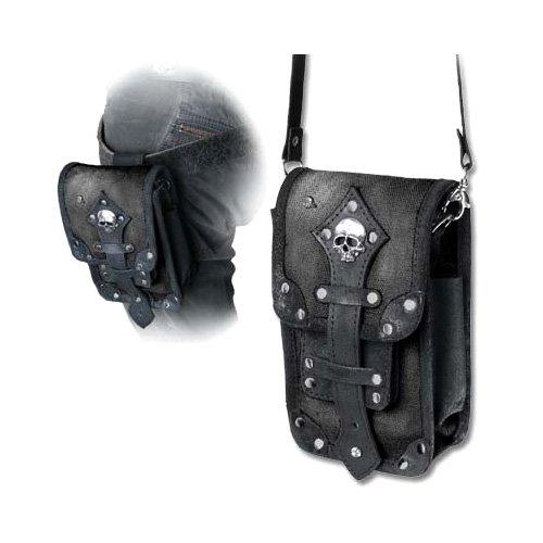 Ufficiale in pelle gotico Alchimia e Pouch Bag 'Aviator' Canvas Empire