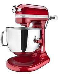 KitchenAid KSM7586PCA 7-Quart  Pro Line Stand Mixer Candy Apple Red