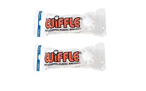Wiffle 3 Baseball Official Wiffle Balls In Polybag, 2 Piece