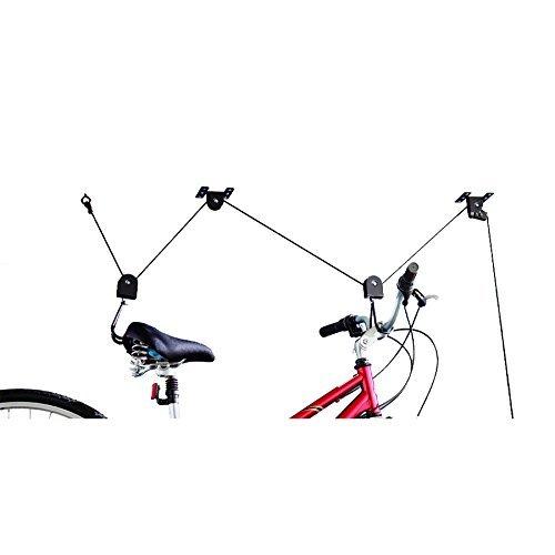 Blue Hawk 1-Bike Black Steel Bike Rack
