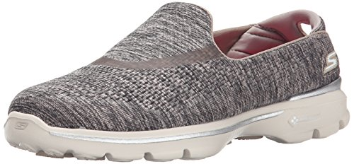 Skechers Performance Footwear Womens Go Walk 3 Renew Walking Shoe Taupe 9 M US