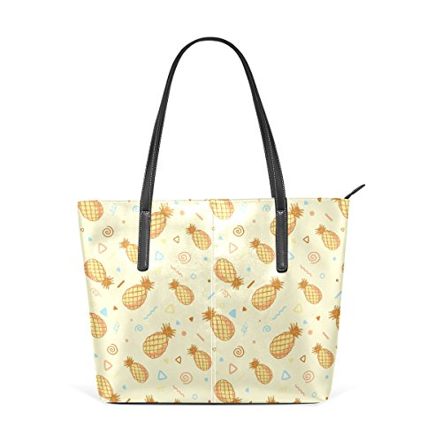 Les Sac Coosun Pour Moyen Femmes Pu Cuir Pineapples Fourre Muticolour Main tout À Et Motif Épaule RwS7wCxpq