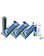 Jura Water Filters Claris Smart + Cleaning Tablets Value Combo - 3 Filters + 6 Cleaning Tablets