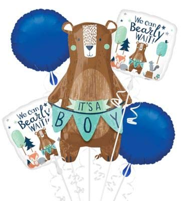 ANAGRAM INTERNATIONAL 3851001 Foil Balloon Bouquet Various -