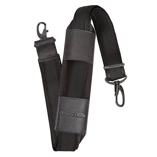 Travelon Anti-Theft Classic Plus Shoulder Strap, Black