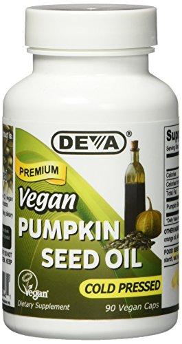 Deva Vegan Vitamins Pumpkin Seed Oil 500 Mg Vcap, 90 Count