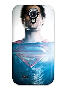New Style 1411892K86658450 New Cute Funny Man Of Steel Henry Cavill Case Cover/ Galaxy S4 Case Cover