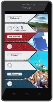 Vexia Zippers - Smartphone de 4.3
