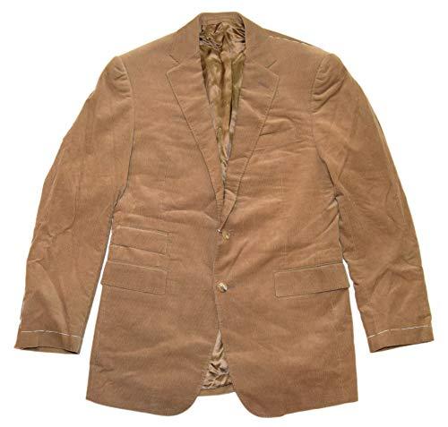 Ralph Lauren Polo Purple Label Mens Corduroy Blazer Sport Coat Jacket Brown Italy