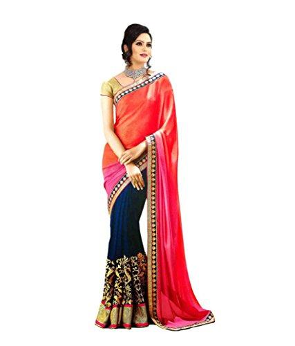 Stylo Sarees Women Designer Beautiful Wedding Ethnic Wear Indian Georgette Sari