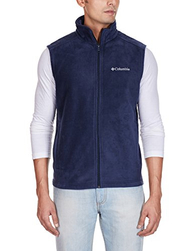 Columbia Men's Cathedral Peak Front-Zip Fleece Vest – DiZiSports Store
