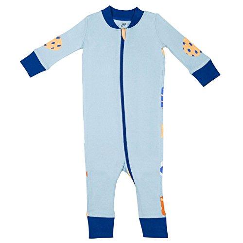 Papallou Abstract Print, 100% Soft Cotton, 1 Piece, Pajama Sleeper, Jumsuit (Size 3-24M).
