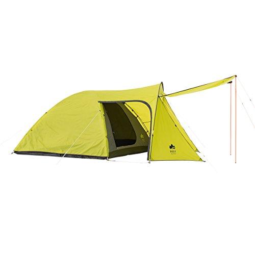 自分自身重くする無しロゴス(LOGOS)  テント 4~5人用 ROSY エントレ2ルームドーム XL 71805021 大型リビング付きドームテント