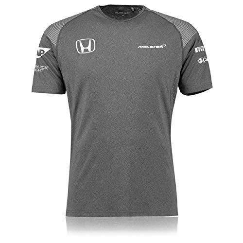 Honda Team T-shirt - McLaren 2017 Honda Team T-Shirt (Large) Gray