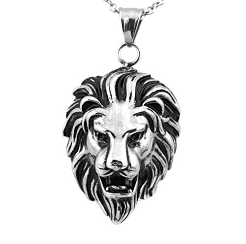 His And Her Costumes Diy (Most Beloved Stainless Steel Lion Head Pendant Necklace)