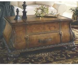 Amazon Com Old World Map Bombay Trunk Coffee Table Kitchen Dining