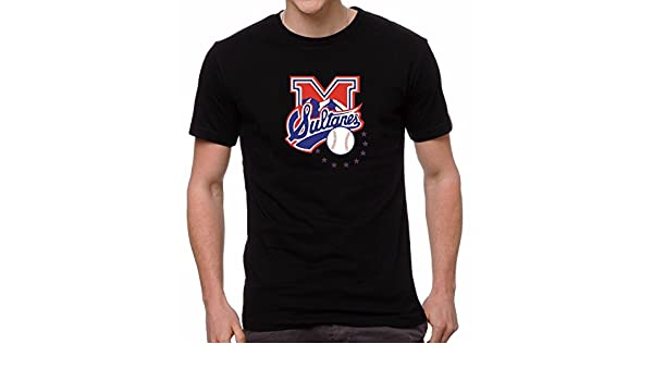 Sultanes de Monterrey Baseball Mens T-Shirt Crew Neck 100% Cotton at Amazon Mens Clothing store: