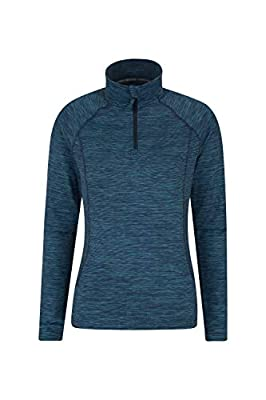Mountain Warehouse Bend&Stretch Womens Midlayer - Half Zip Sweater