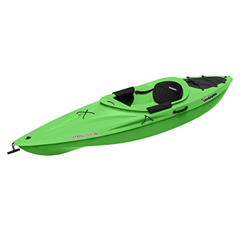 Sun Dolphin Aruba SS Sit-in Kayak (Lime, 10-Feet)