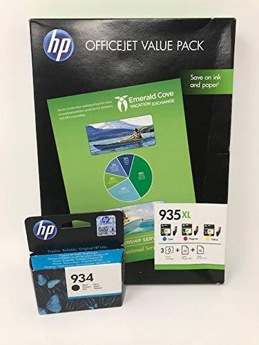 HP 935XL - Cartucho de tinta para impresoras (Cian, HP ...