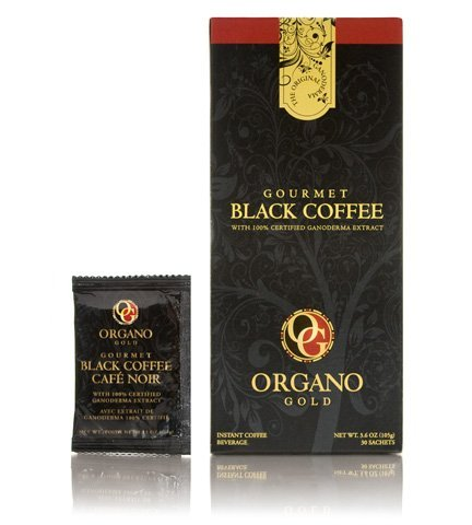 5 Box of Organo Gold Gourmet Black Coffee 100% Certified Ganoderma Extract Sealed by Organo Gold [Foods]