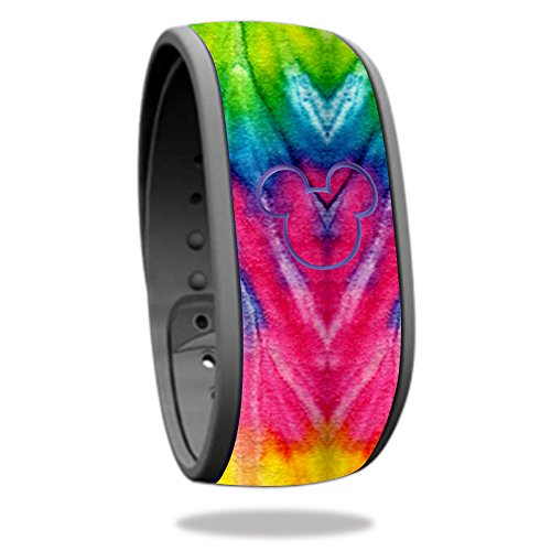 Skin For Disney Magic Band – Tie Dye 2 | MightySkins Protective, Durable, and Unique Vinyl Decal wrap cover | Easy To Apply, Remove, and Change Styles | Made in - Fit U Palm Beach West