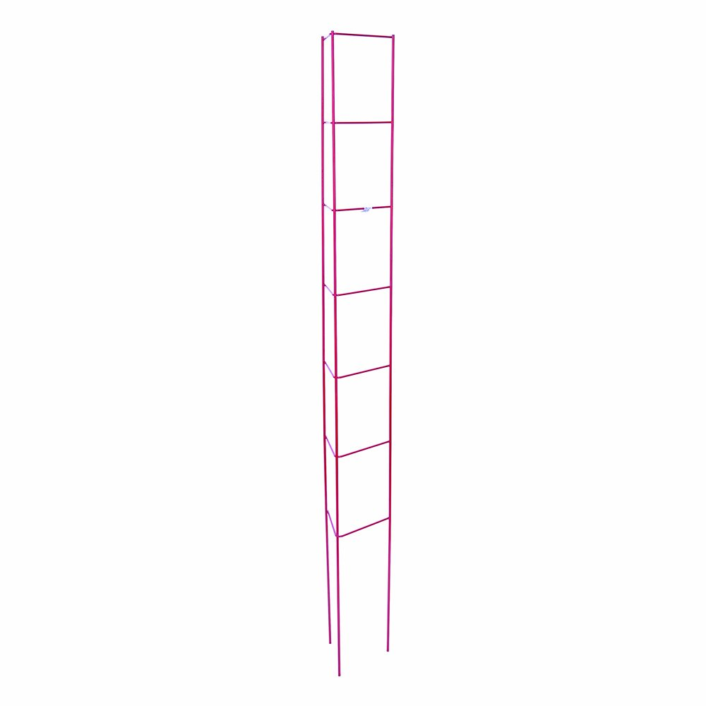 Panacea Products 89766 Garden Plant Support Ladder, Red