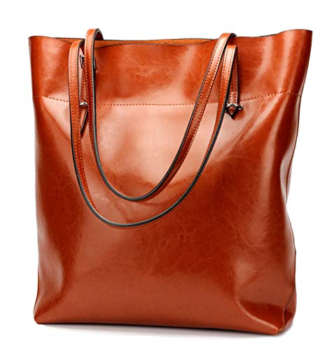 Covelin Women's Handbag Genuine Leather Tote Shoulder Bags Soft Hot - Tote Leather Cowhide