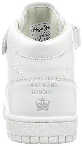 Lindasy weiß Donna Alte Sneaker Pepe Bianco 800white Jeans Basic SUfnqx0wZ5