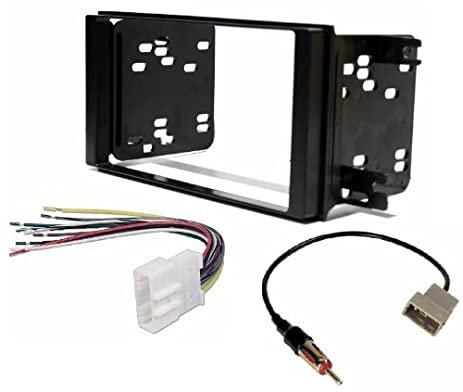 410mhNzCmGL._SX463_ amazon com aftermarket double din radio stereo installation double din wiring harness at gsmportal.co