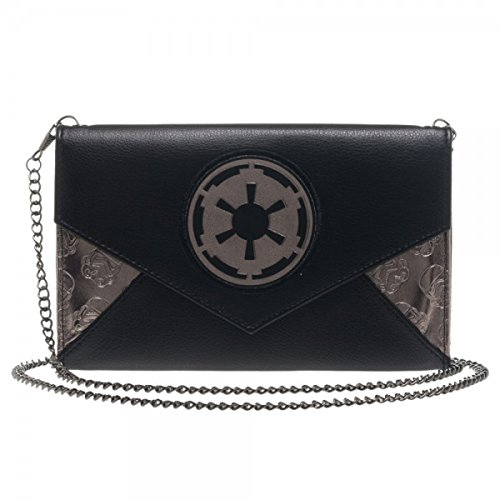 Star Wars Imperial Envelope Wallet with Chain - Logo Chain Wallet