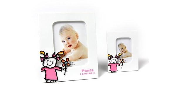 Portafotos Bautizos Toy Poliresina Niña Xl - Portafotos Recuerdos ...
