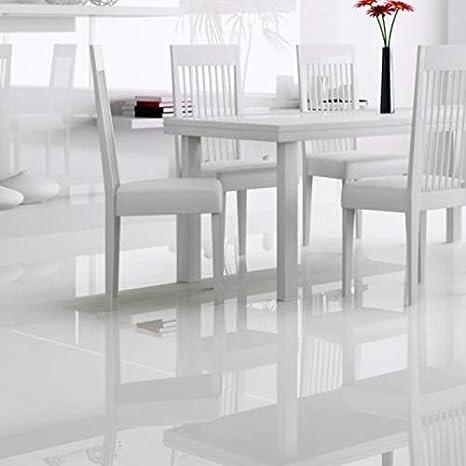 Top FALQUON Weiß/White D2935 Hochglanz Laminat Glamour Max XXL (ohne EH57