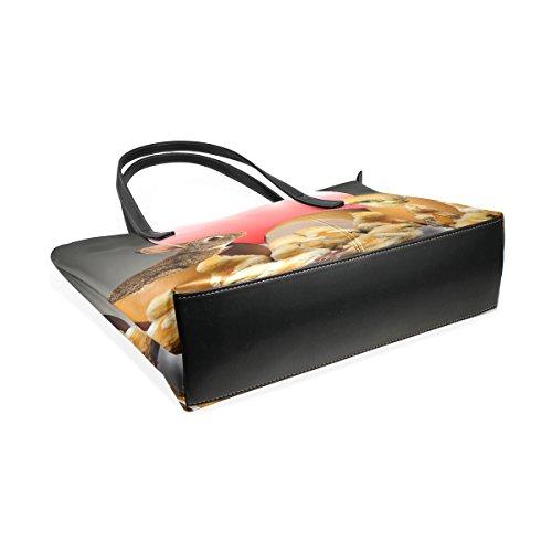 Handbags Handle Bags Shoulder Egg Satchel Tote Women's Top Large Bunny Purse Bennigiry Easter U1xaFwqX4