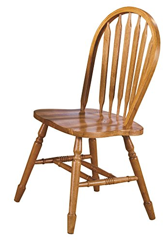 Sunset Trading Arrowback Dining Chair RTA, Set of 2, 38
