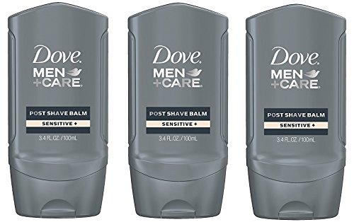 Post Shave Face Balm (Dove Men + Care Post Shave Balm, Sensitive 3.4 oz (Pack of 3))