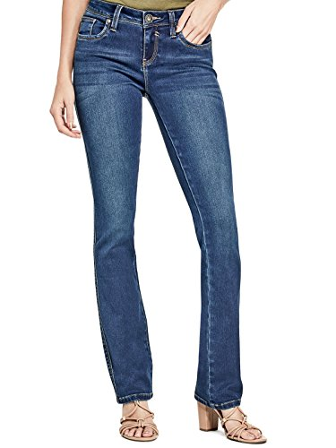 (GUESS Factory Women's Visha Slim Bootcut)