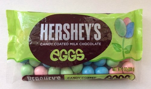 Hershey's Easter Candy Coated Milk Chocolate Eggs, 8-Ounce P