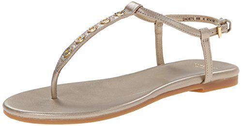 Cole Haan Mujeres Effie Sandal Soft Gold