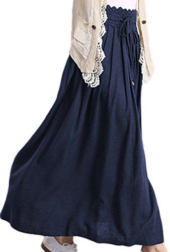 Soojun Womens Pleated Vintage Cotton