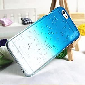DD iPhone 6 compatible Rain Droplet Back Cover , Blue