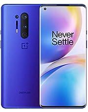 OnePlus 8 Pro Ultramarine Blue, 5G Unlocked Android Smartphone U.S Version, 12GB RAM+256GB Storage, 120Hz Fluid Display,Quad Camera, Wireless Charge, with Alexa Built-in