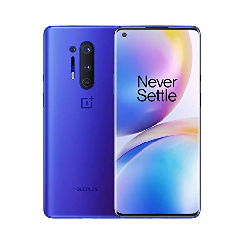 OnePlus 8 Pro Ultramarine Blue, 5G Unlocked Android Smartphone U.S Version, 12GB RAM+256GB Storage, 120Hz Fluid Display…