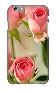 Case Provided For Iphone 6 Protector Case Cute Pink Roses Phone Cover With Appearance