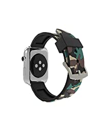 Rykimte Soft Silicone Watch Band for Apple Watch iWatch