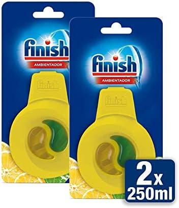 Finish Ambientador para lavavajillas fragancia limón - 5 unidades ...