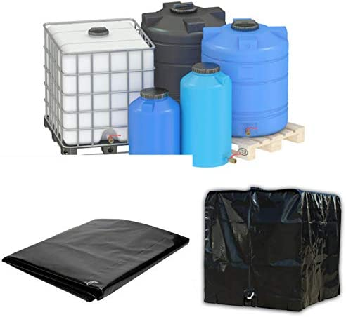 Cover Sun Protective Hood Fit for Rain Water 1000 liters Tank IBC Container Foil