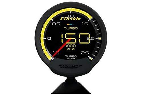 (Greddy 16001740 Sensor Unify Turbo Gauge (Sirius Meter W/Boost Pressure Set & Vision)